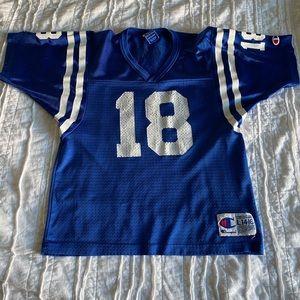 Retro Peyton Manning Colts youth NFL jersey large